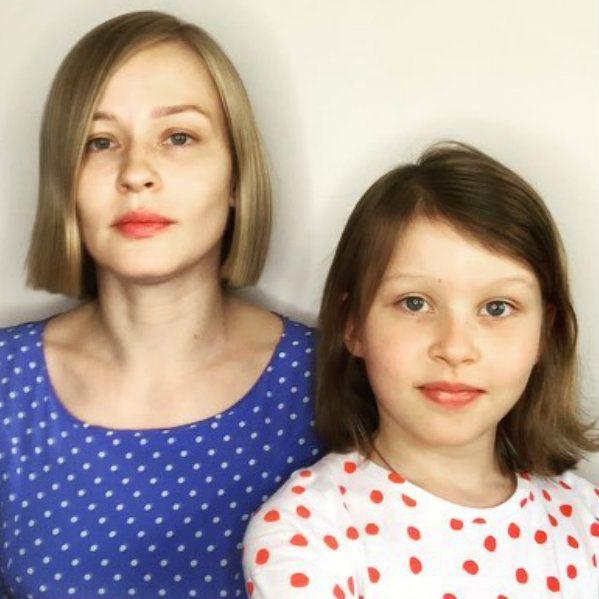 Юлия Пересильд показала, как прошел день рождения их с Алексеем Учителем старшей дочери