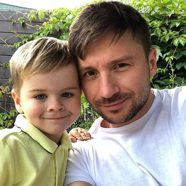 Сергей Лазарев признался, что его 5-летний сын мечтает стать певцом