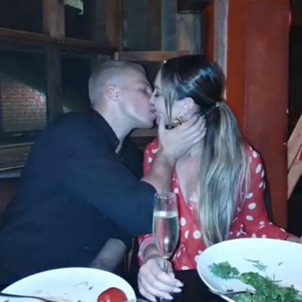 Появилось видео страстного поцелуя Ольги Бузовой и Олега Майами