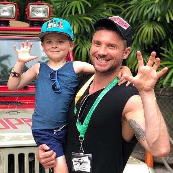 Сергей Лазарев гордится тем, что не избаловал своего 5-летнего сына