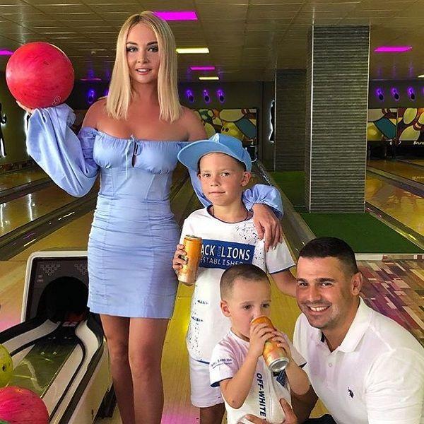 Дарья Пынзарь показала кадры с празднования дня рождения ее 8-летнего сына