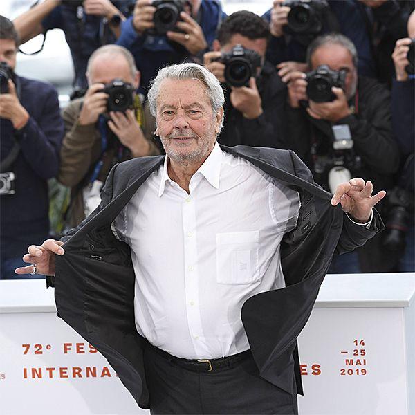 Ален Делон подвергся травле на 72-м Каннском кинофестивале после получения «Золотой пальмовой ветви»