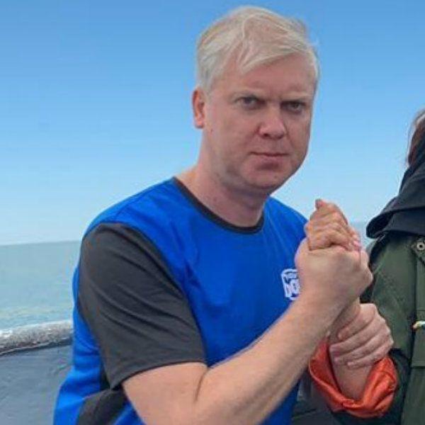 Сергей Светлаков показал, как его запустили из гигантской катапульты на съемках нового «Форт Боярда»