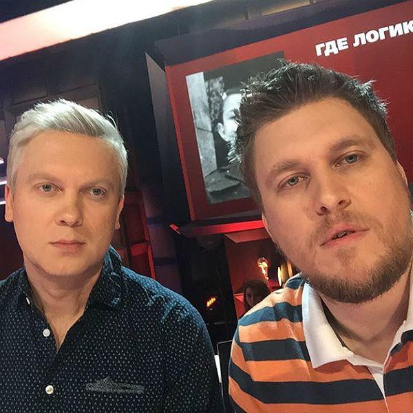 Сергей Светлаков и Александр Незлобин презентовали документальный сериал Sasha from Russia о жанре стендап