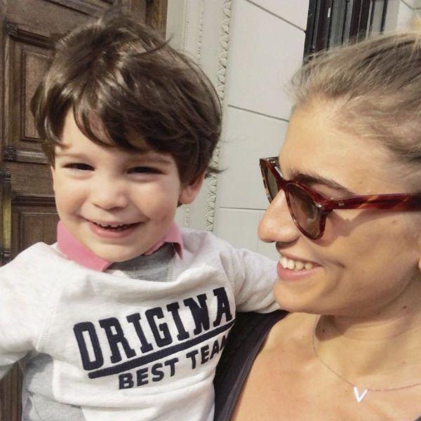 Нино Нинидзе поделилась милым видео с трехлетним сыном от Кирилла Плетнева