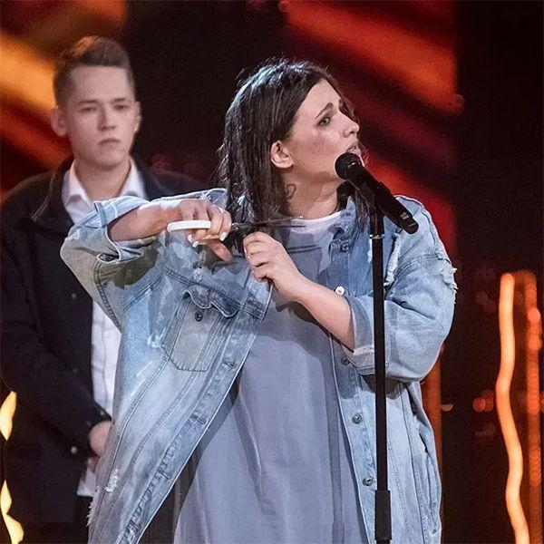 Участница 2-го сезона шоу «ПЕСНИ» отрезала волосы перед Бастой и Тимати, чтобы пройти в следующий этап