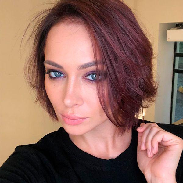 31-летняя Настасья Самбурская рассталась с возлюбленным