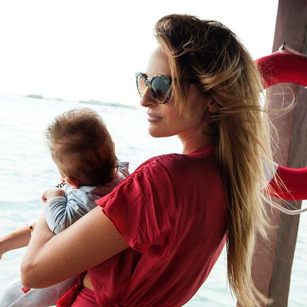 Звезда сериала «Полицейский с Рублевки» Софья Каштанова рассекретила имя четырехмесячного сына