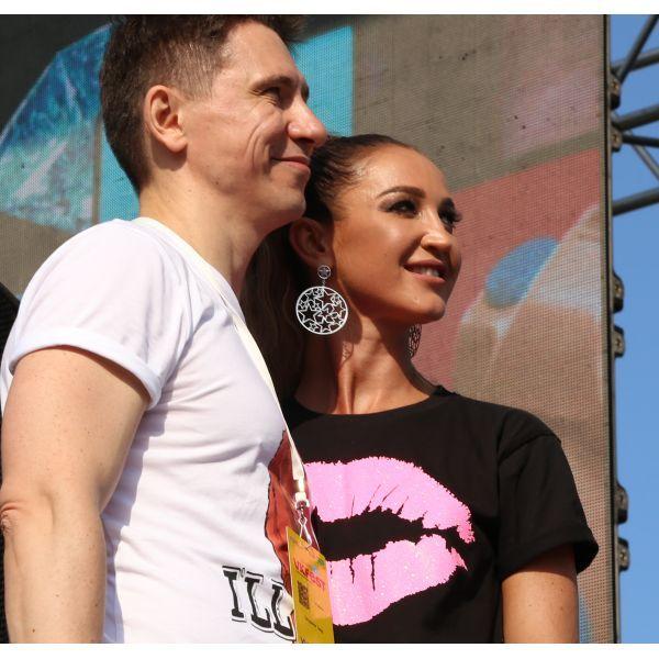 Тимур Батрутдинов и Ольга Бузова не скрывали нежных чувств на презентации шоу «План Б»