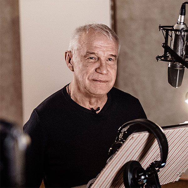 60-летний Сергей Гармаш озвучил мультфильм «Тайная жизнь домашних животных 2»