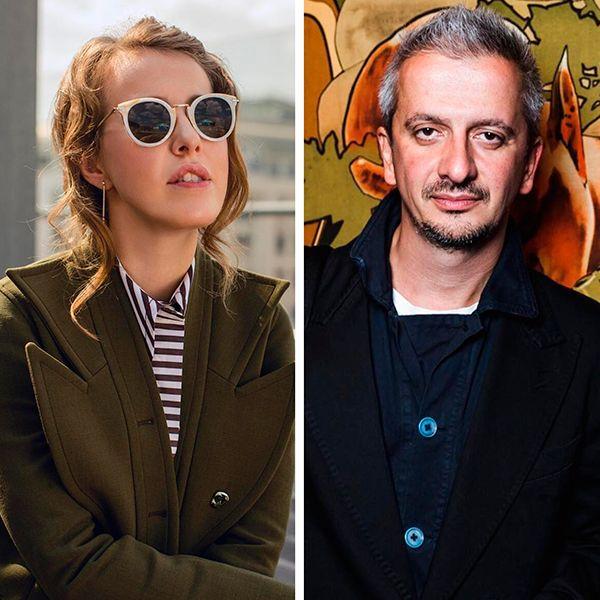Ксения Собчак и Константин Богомолов вместе позавтракали в кафе
