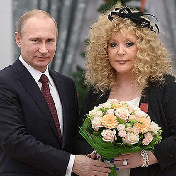Владимир Путин поздравил Аллу Пугачеву с 70-летием