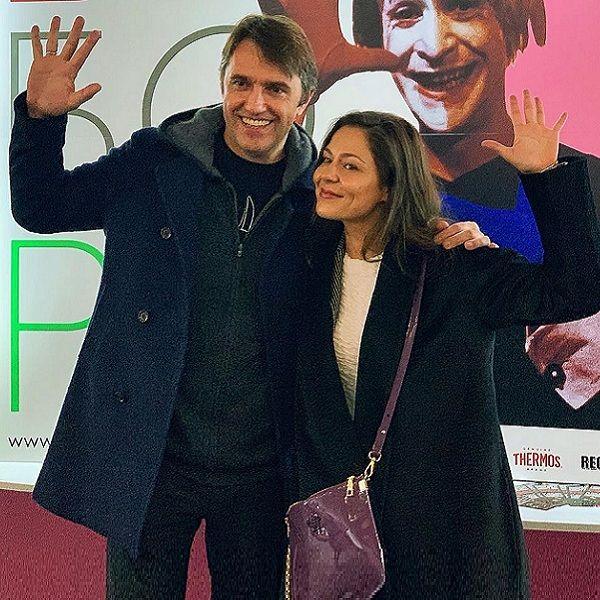 Елена Лядова поддержала Владимира Вдовиченкова на премьере сериала «Учителя»