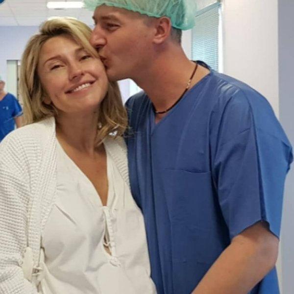 Екатерина Архарова призналась, что ей было не страшно рожать первенца в 44 года