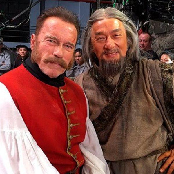 Российская кинокомпания требует взыскать с Джеки Чана и Арнольда Шварцнеггера 216 миллионов рублей, потраченных на производство фильма «Тайна печати дракона»