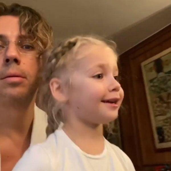 Максим Галкин показал, как их с Аллой Пугачевой 6-летняя дочь бегло читает по-французски