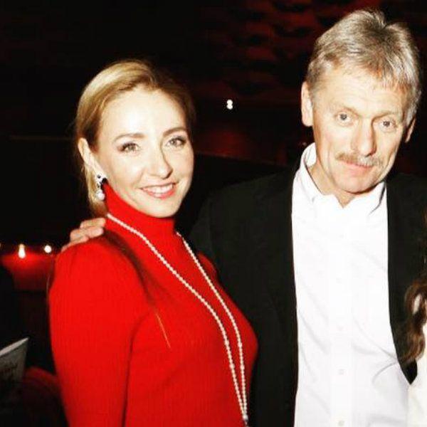 Татьяна Навка опубликовала умилительное фото с мужем Дмитрием Песковым и 4-летней дочерью Надей