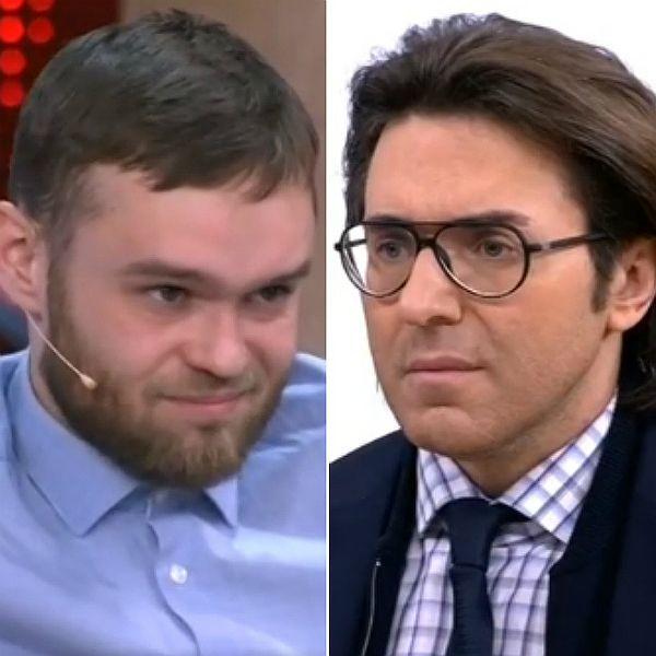 Сын умершей Ирины Цывиной и Андрей Малахов схлестнулись в студии ток-шоу «Прямой эфир»