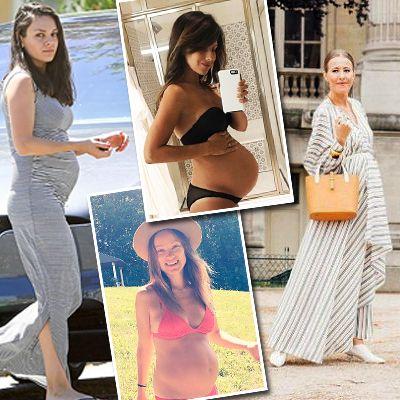Фото знаменитостей, смотреть фото звезд, свадебные Российские звезды беременные смотреть