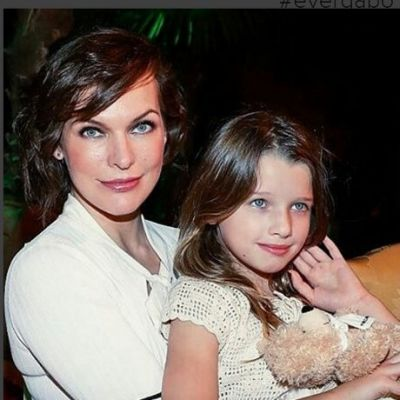 дочери милы йовович фото