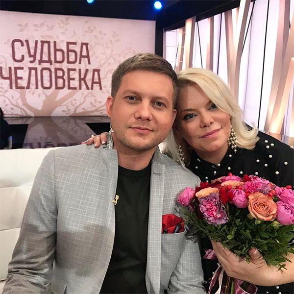 Яну Поплавскую выразила недовольство вопросами о первом браке в шоу «Судьба человека»