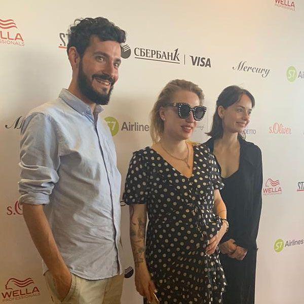 Беременная в третий раз Валерия Гай Германика троллила журналистов пресс-конференции на «Кинотавре»