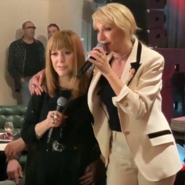 Кристина Орбакайте спела для Аллы Пугачевой песню на праздновании юбилея Примадонны
