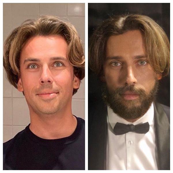 43-летний Максим Галкин показал, как выглядит с бородой
