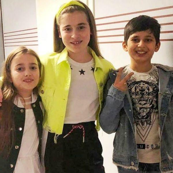Финалисты 6-го сезона шоу «Голос. Дети» поздравили дочь Алсу Микеллу Абрамову с днем рождения