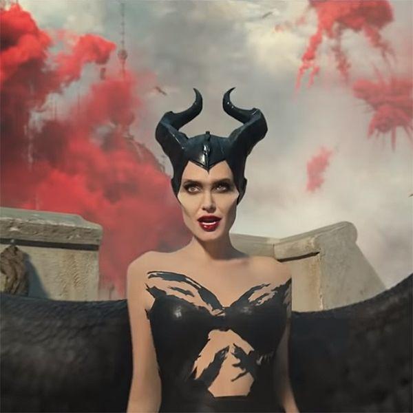 Прикрытая лишь перьями Анджелина Джоли появилась в первом трейлере сиквела «Малефисенты»