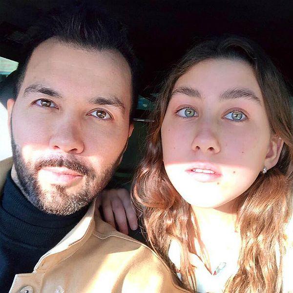Денис Клявер опубликовал фото с подросшей дочерью от Евы Польны