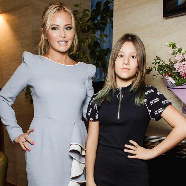 42-летняя Дана Борисова отметила два года трезвости в компании дочери