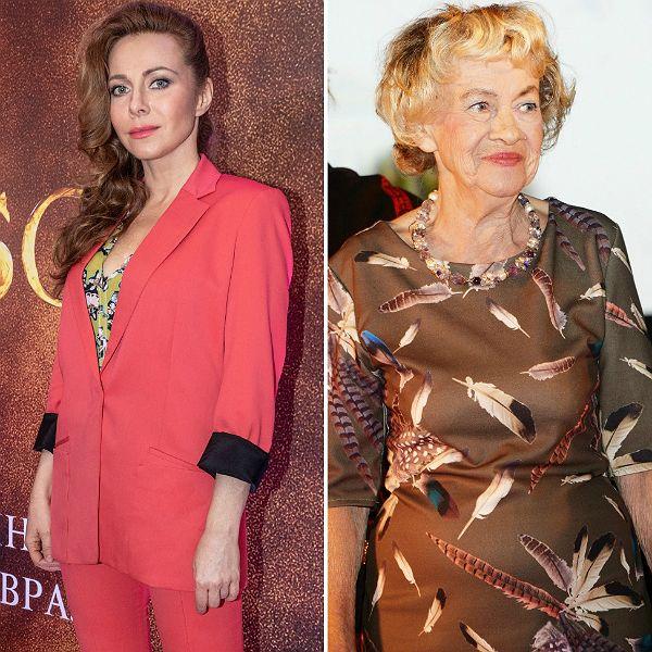 Екатерина Гусева почтила память Александры Назаровой, с которой снялась в «Бригаде»