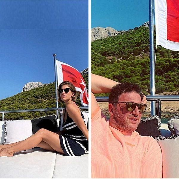 Максим Виторган и Нино Нинидзе отдыхают вместе в Греции