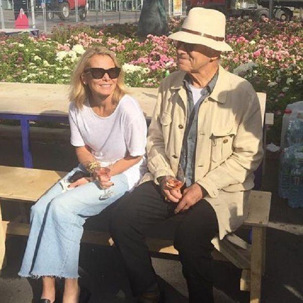 45-летняя Юлия Высоцкая поделилась романтическим фото с 81-летним Андреем Кончаловским