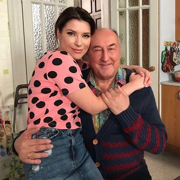 Борис Клюев отметил 75-летие на съемках сериала «Воронины»