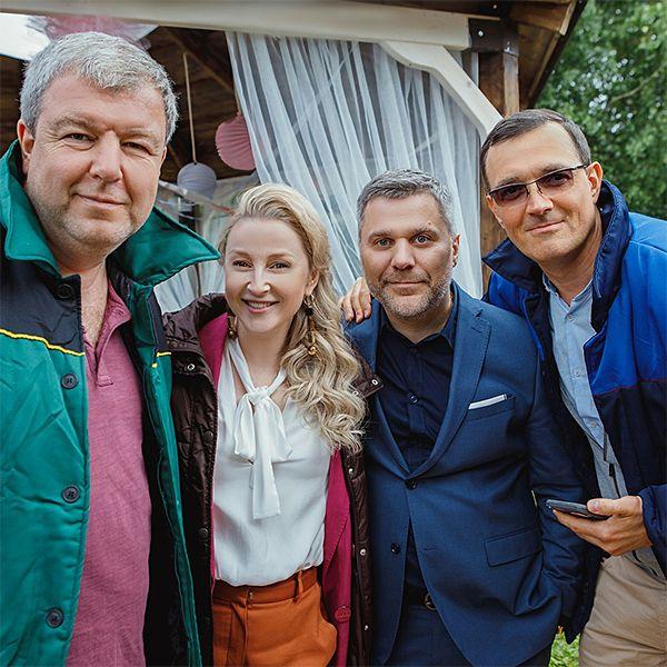Стартовали съемки ситкома «Заклятые друзья» с Егором Бероевым и Александром Робаком