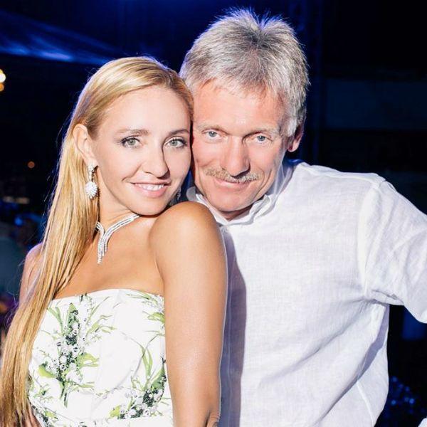 Татьяна Навка трогательно поздравила мужа Дмитрия Пескова с четвертой годовщиной свадьбы