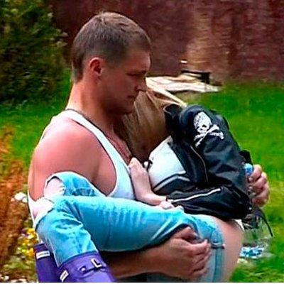 Фото карякиной и её ребенка