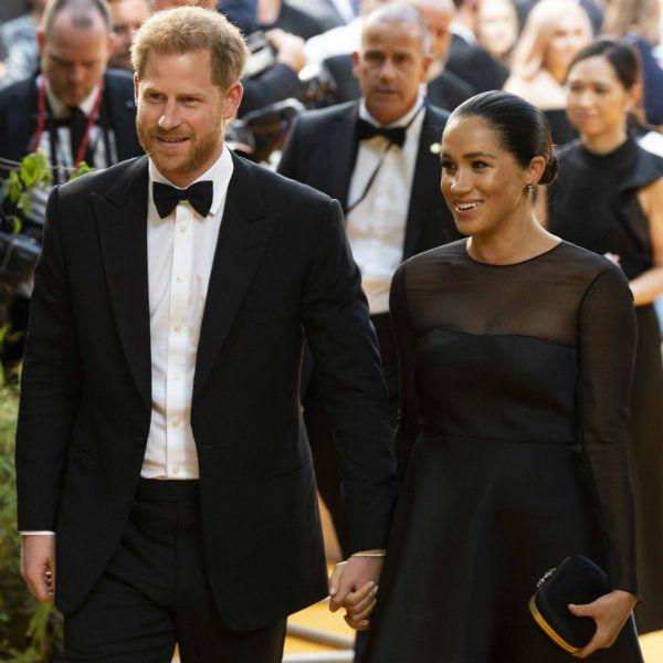 Принц Гарри публично поздравил жену Меган Маркл с 38-летием