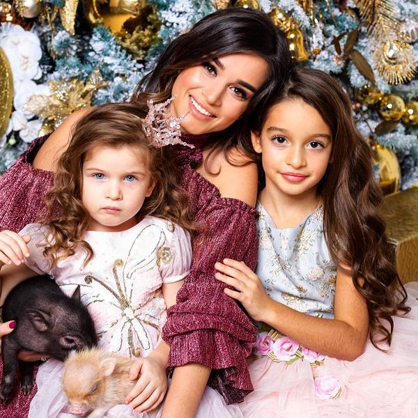 3-летняя дочь Ксении Бородиной рассказала, в какой профессии видит себя в будущем