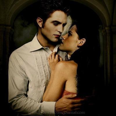 Вампир занимается сексам