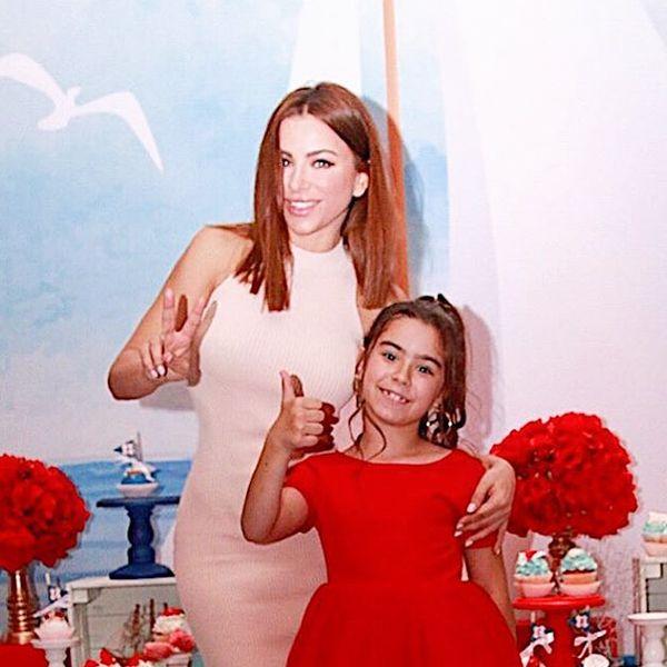 Ани Лорак опубликовала кадры с празднования дня рождения дочери