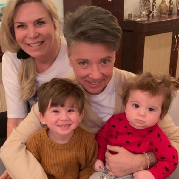 Валентин Юдашкин трогательно поздравил внука с первым днем рождения